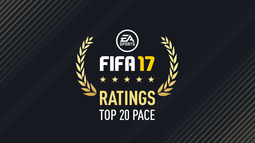 FIFA 17 – Fastest Players