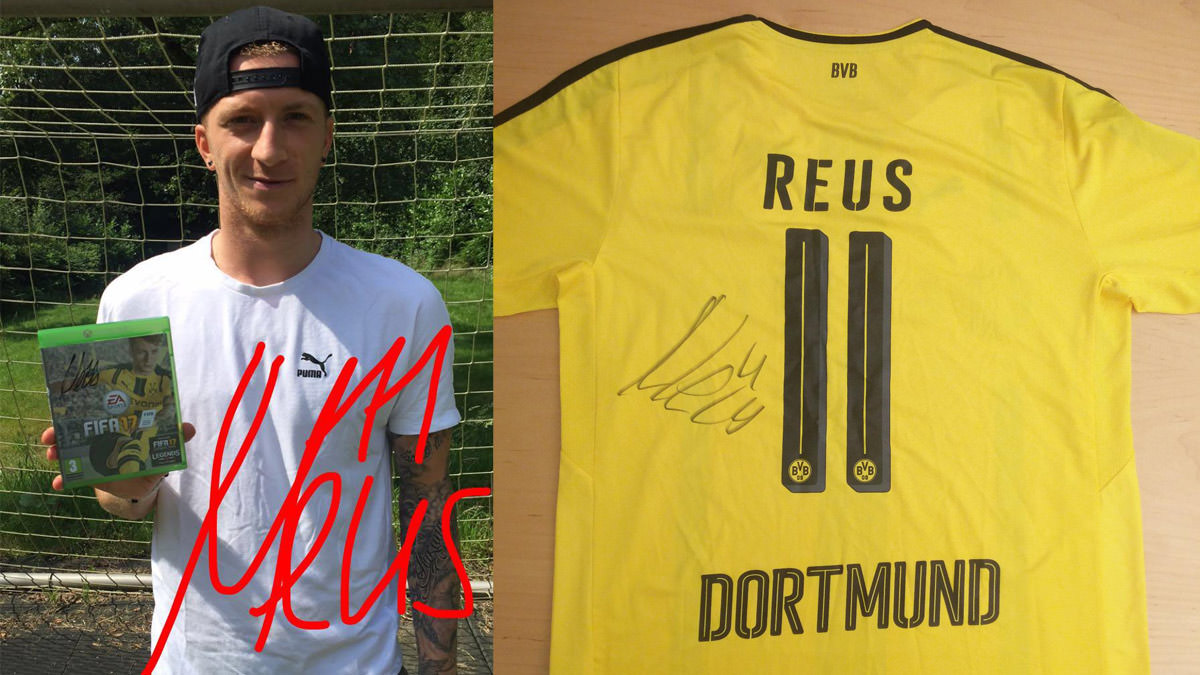 Marco Reus Won the FIFA 17 Global Cover Vote - FIFPlay