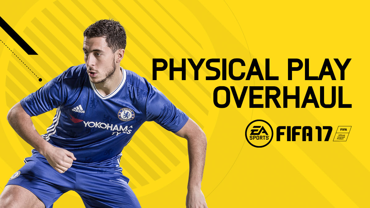 FIFA 17 Features – Physical Play Overhaul