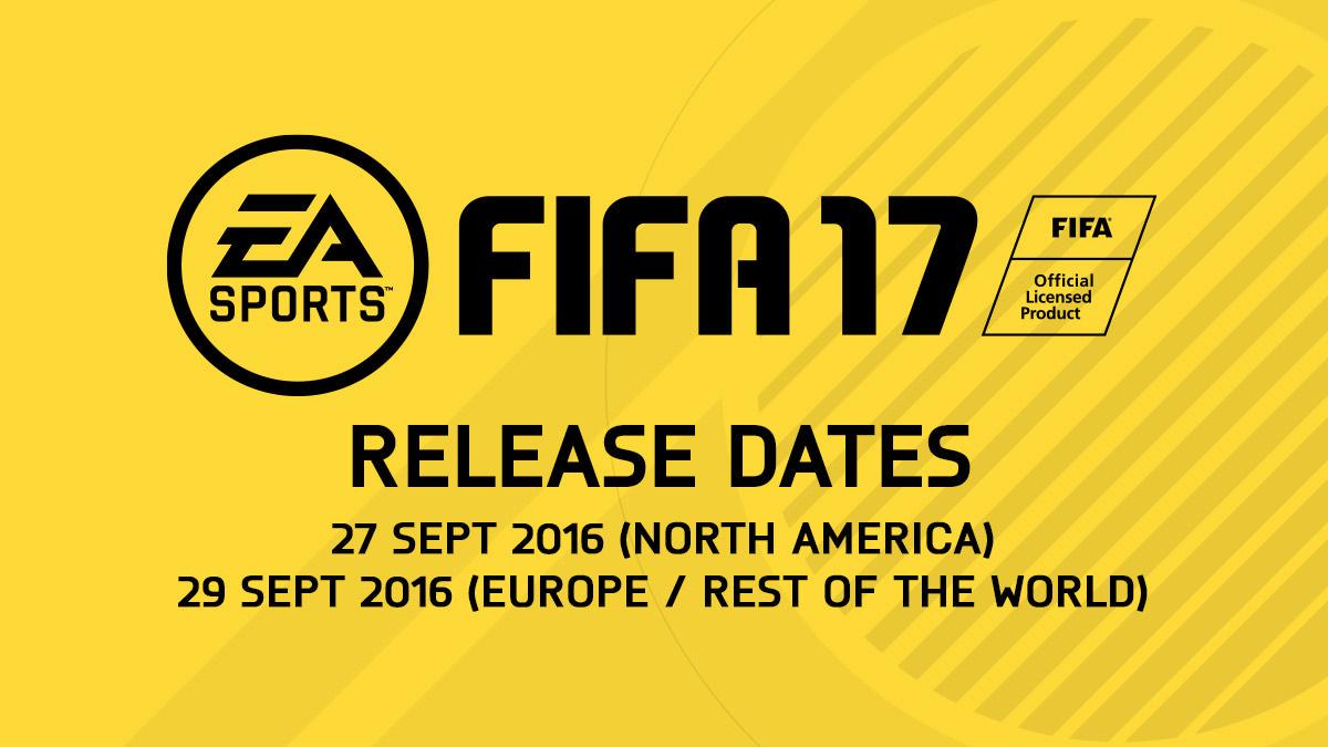 fifa 17 release