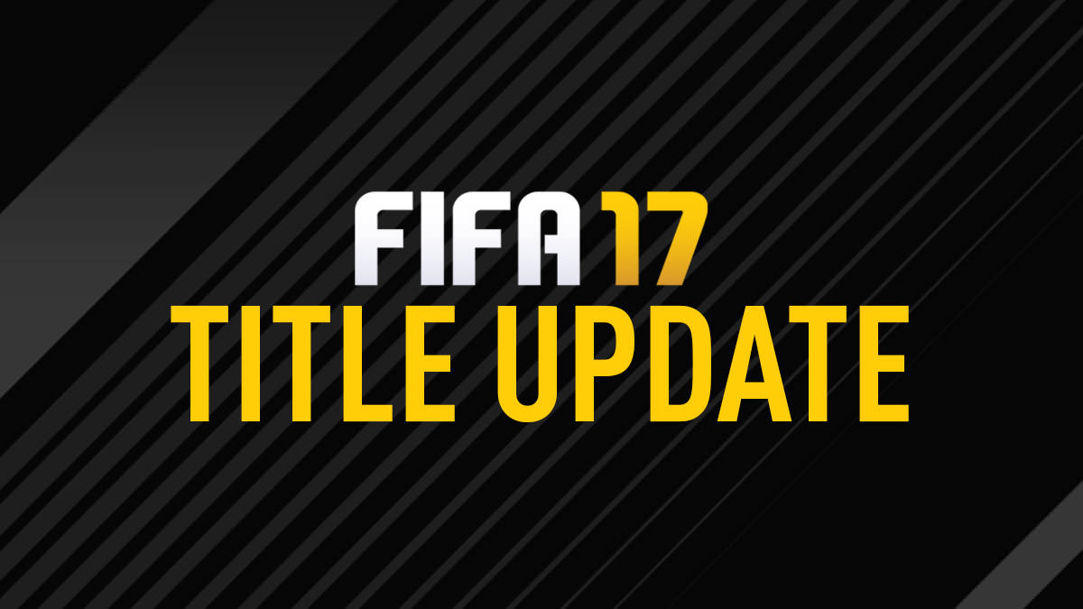 FIFA 17 – Ninth Title Update