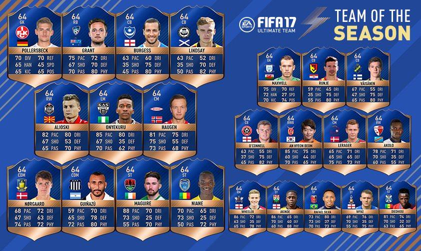 FIFA 17 TOTS Community Bronze