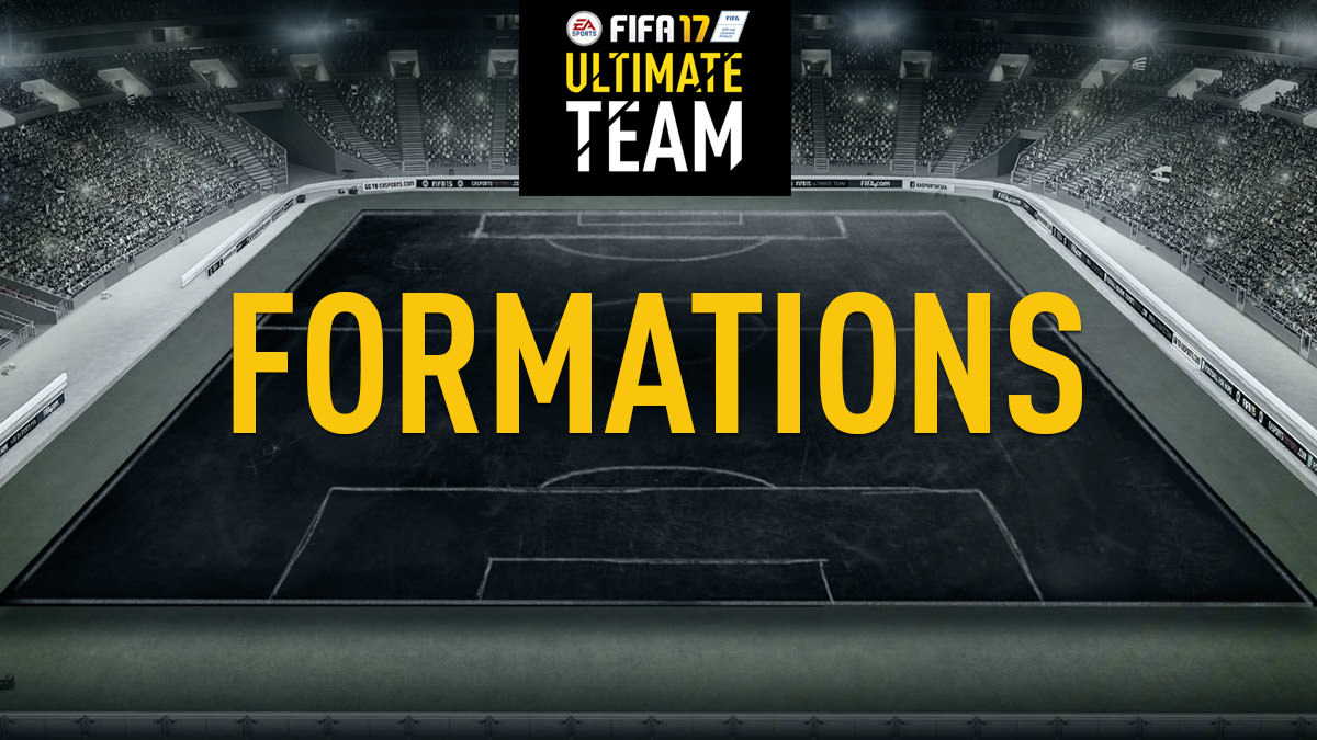 FIFA 17 Ultimate Team Formations