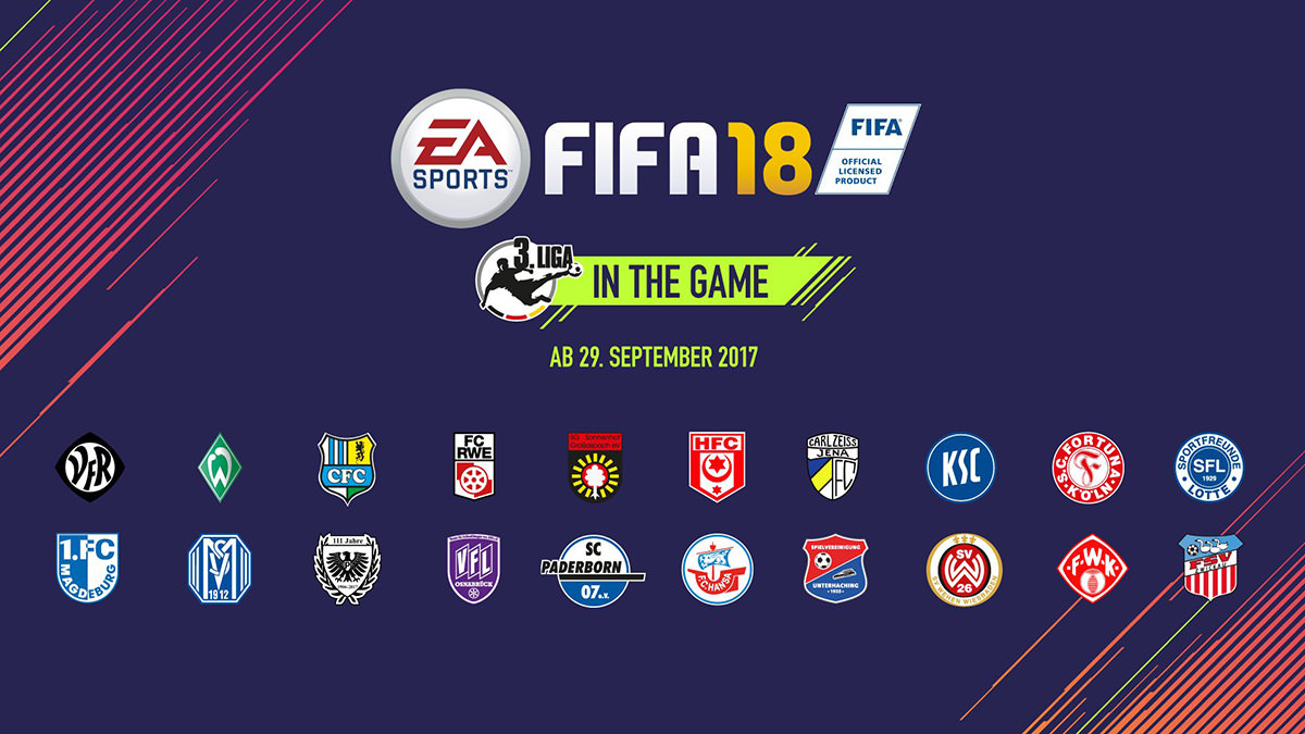 German 3. Liga Features in FIFA 18