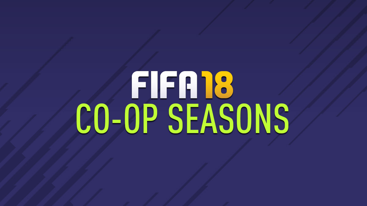 FIFA 18 Co-op Seasons
