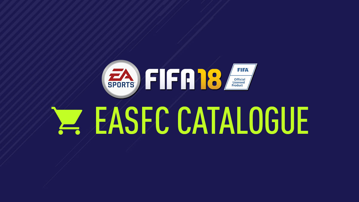 FIFA 18 – EASFC Catalogue
