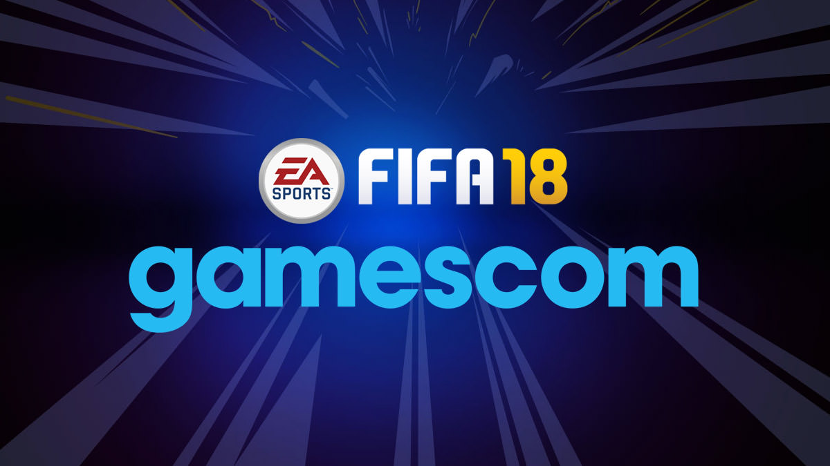 FIFA 18 at Gamescom