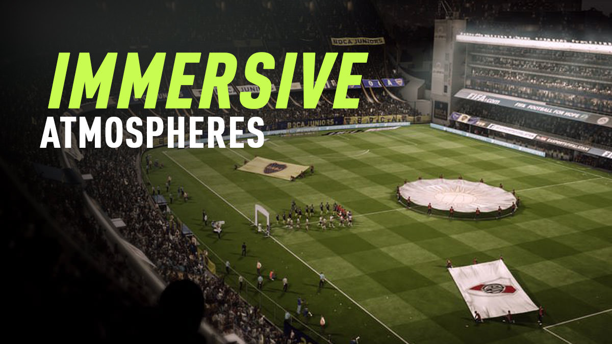 FIFA 18 – Immersive Atmospheres