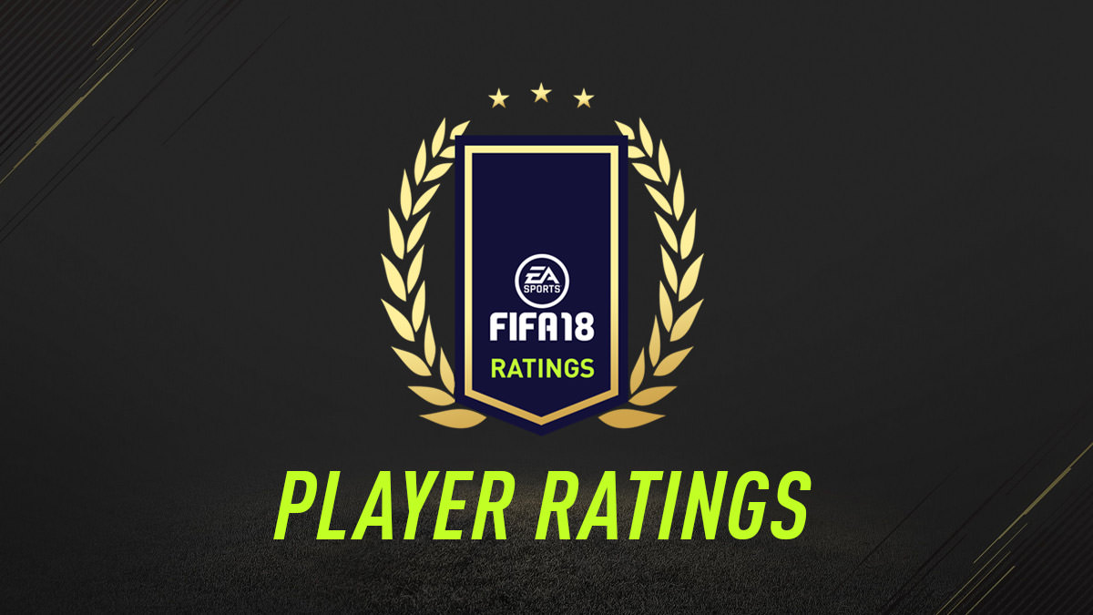 FIFA 18 Player Ratings
