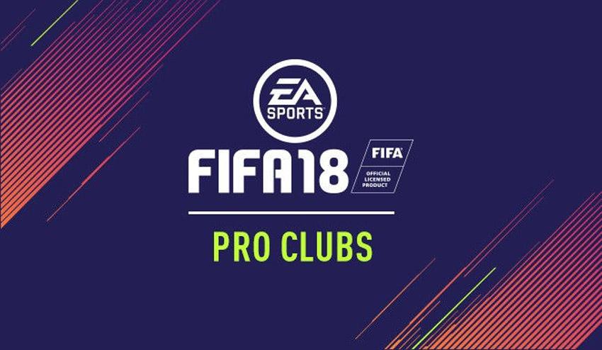 FIFA 18 Pro Clubs – FIFPlay