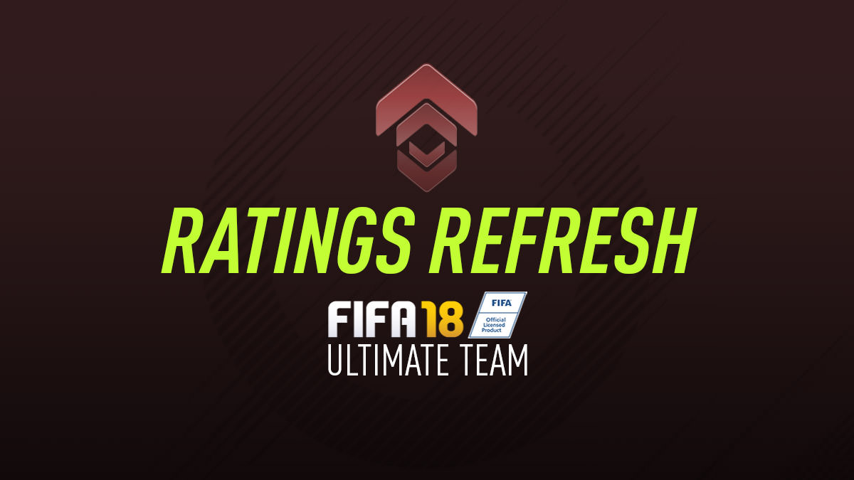 FUT 18 Ratings Refresh