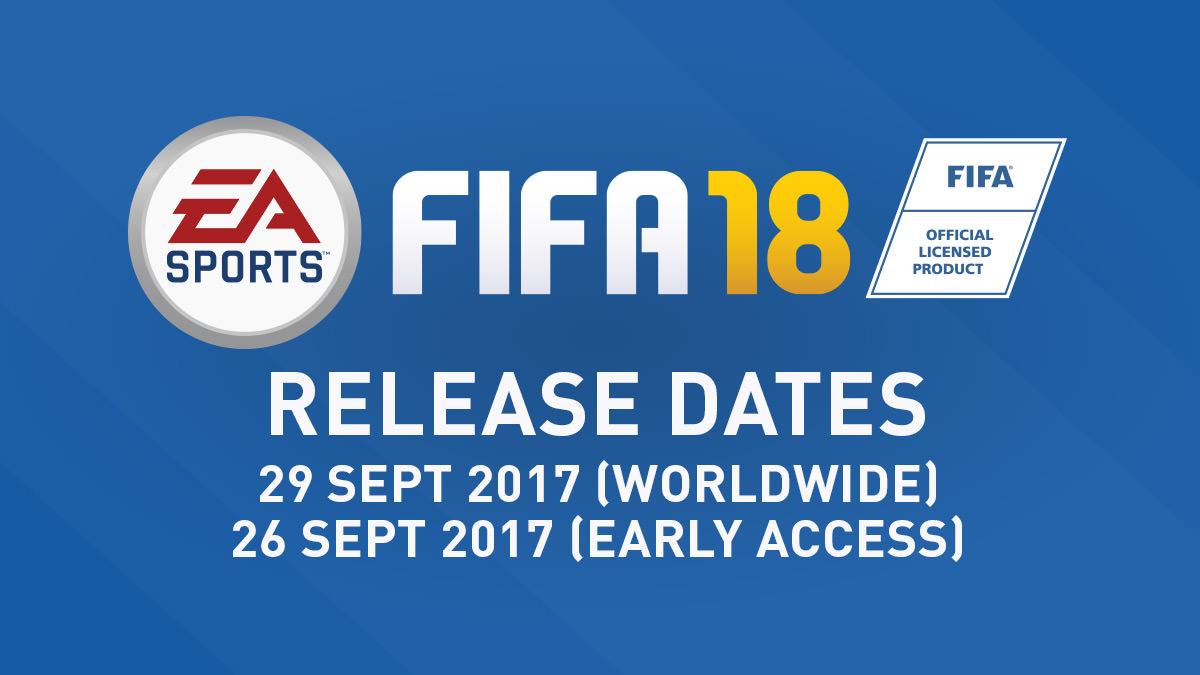 FIFA 18 Release Date – FIFPlay