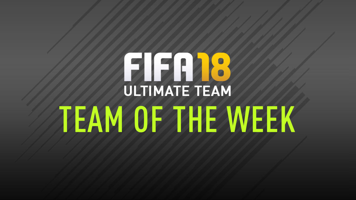 FIFA 18 Team of the Week