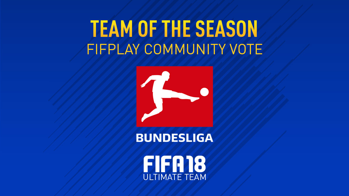 FIFA 18 Team of the Season Vote – Bundesliga