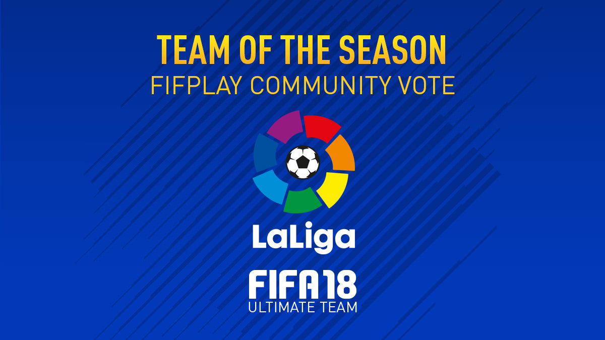 FIFA 18 Team of the Season Vote – La Liga