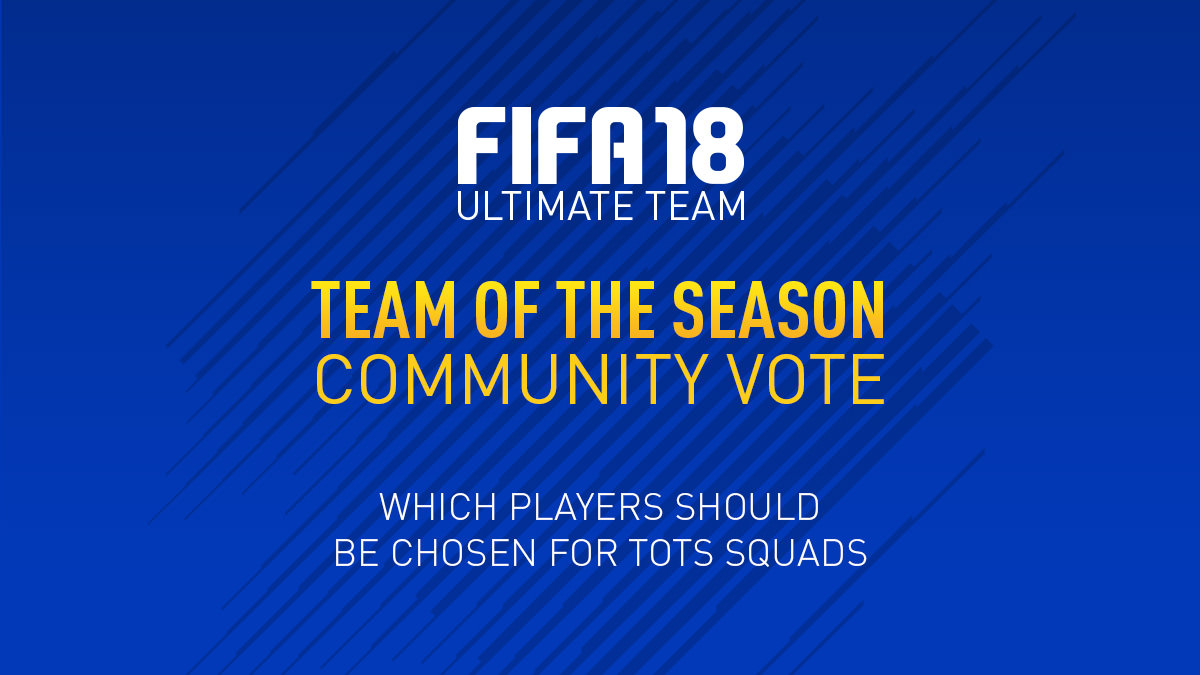 FIFA 18 Team of the Season Vote