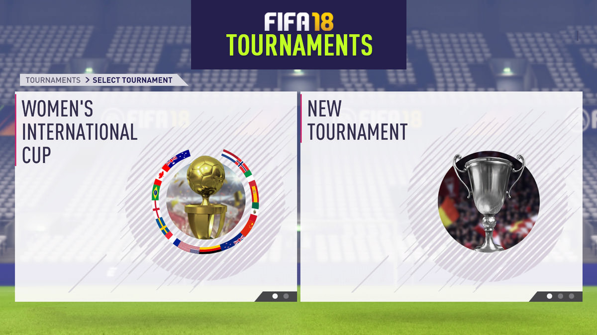 FIFA 18 Tournament Mode