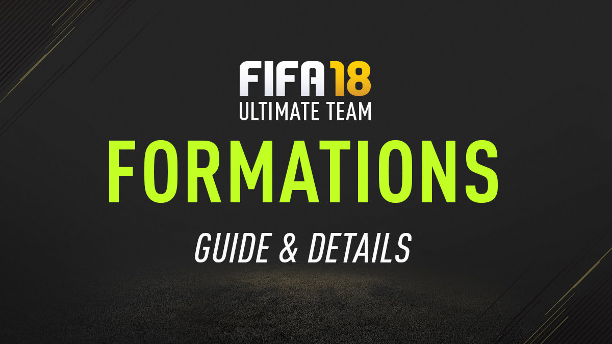 FIFA 18 Ultimate Team Formations