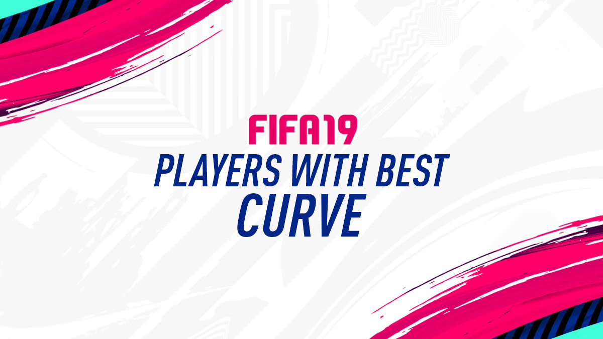 FIFA 19 Players with Best Curve Attribute