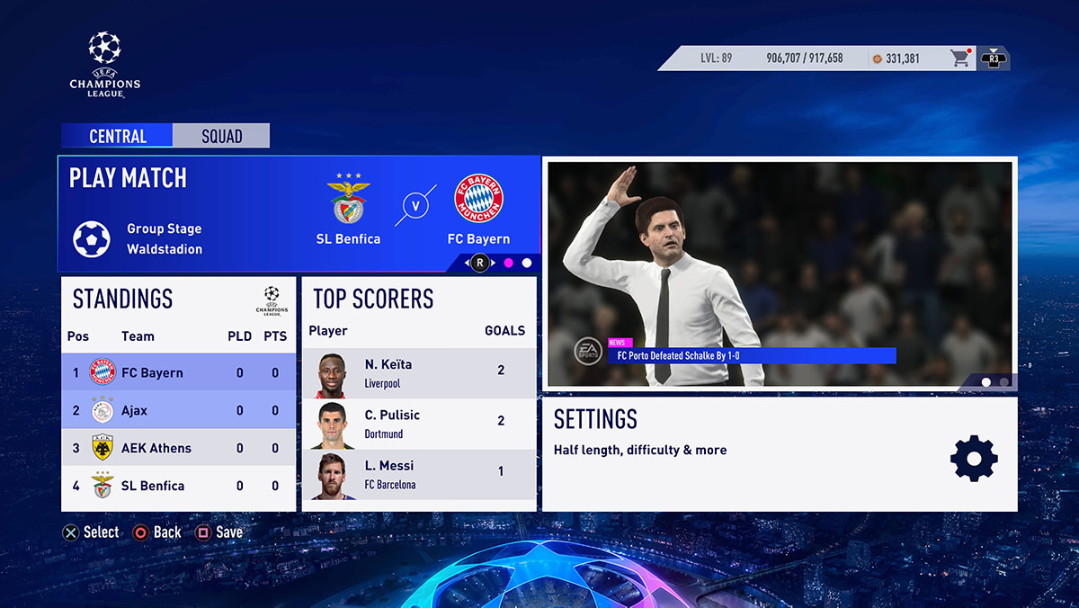 How to Play the UEFA Champions League in FIFA 19 – FIFPlay