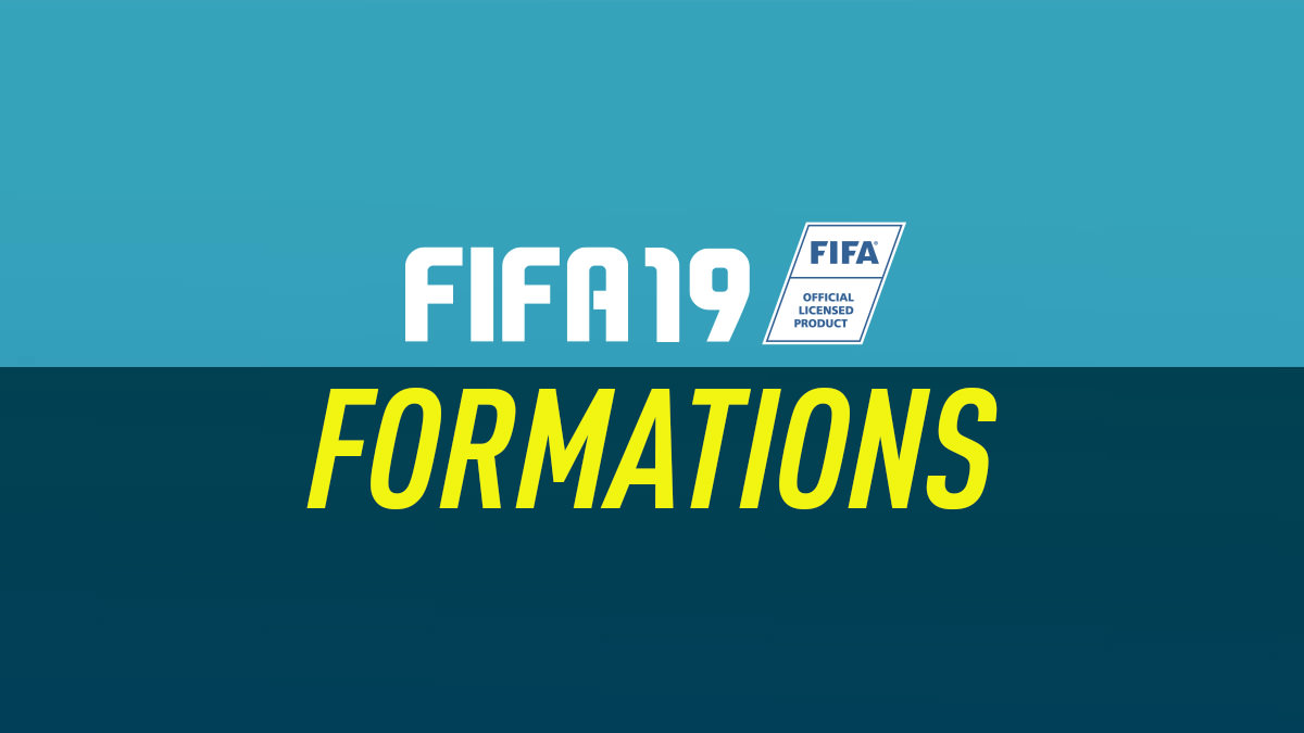 FIFA 19 Formations