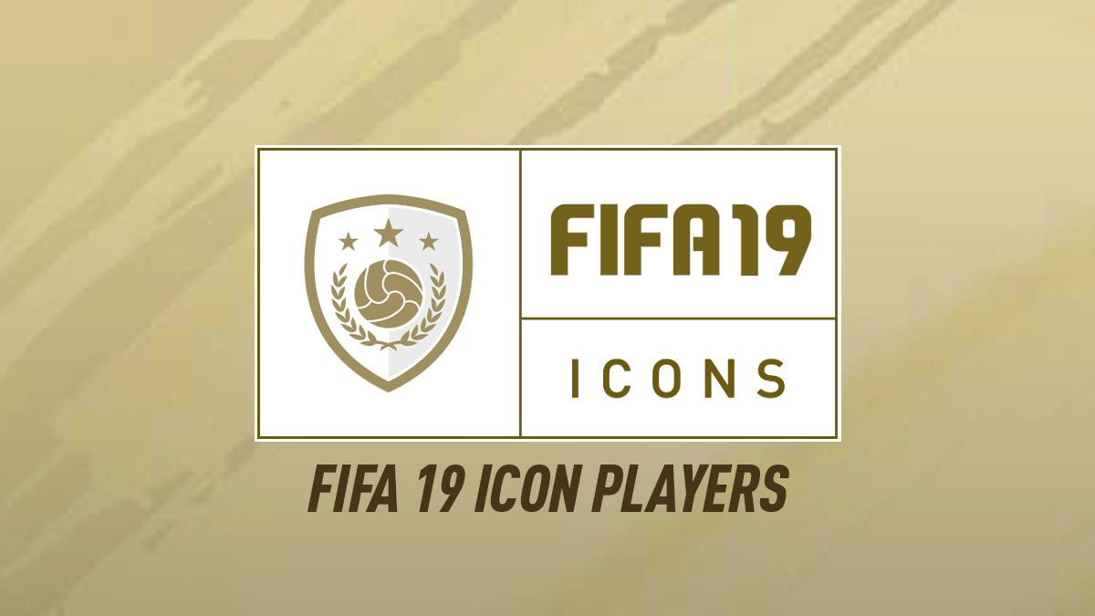 FIFA 19 ICONS – FUT 19 ICON Players List