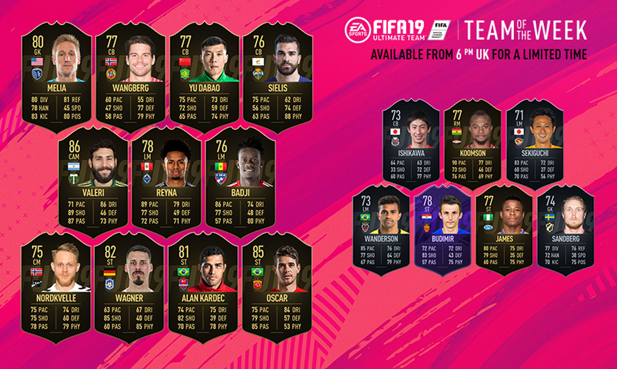 FIFA 19 Team of the Week 41