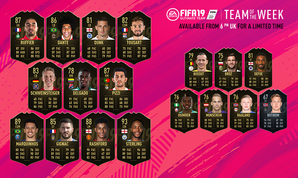 FIFA 19 Team of the Week 42