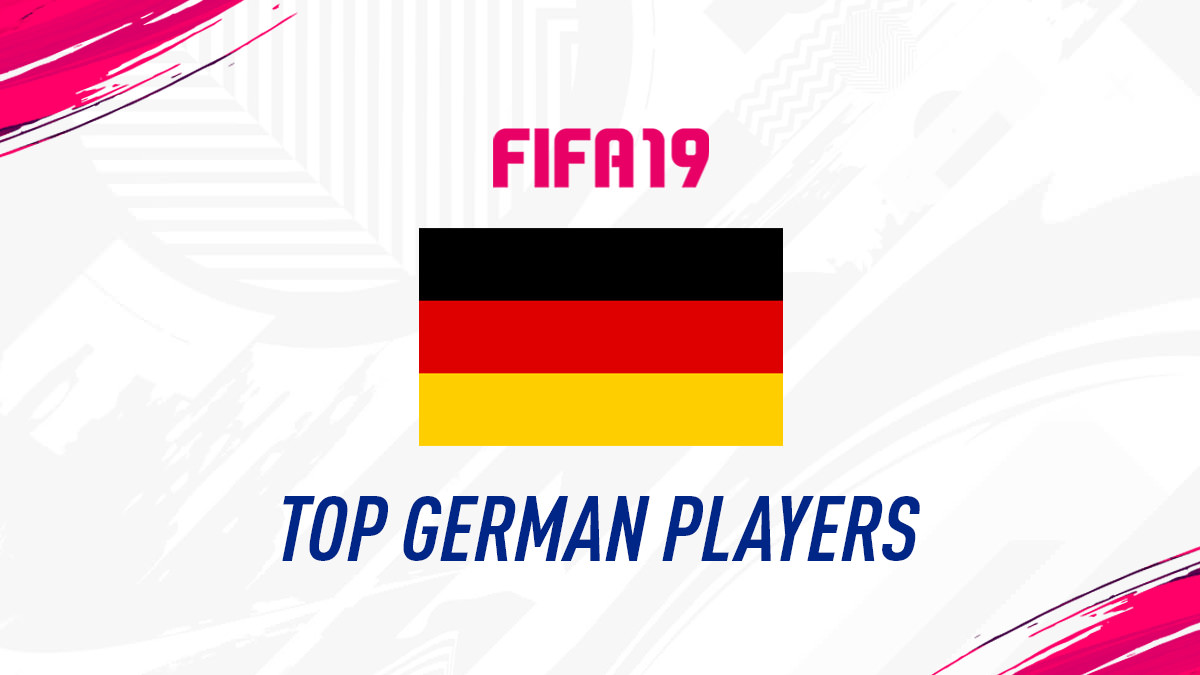 FIFA 19 Top Players from Germany