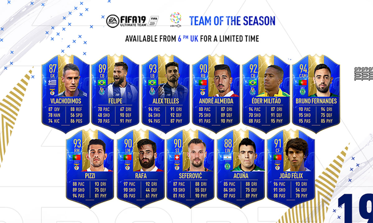 FIFA 19 Team of the Season (TOTS) – FIFPlay