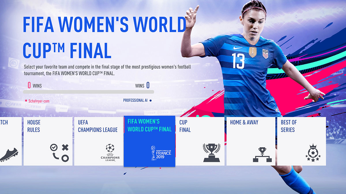 FIFA 19 – FIFA Women's World Cup Final