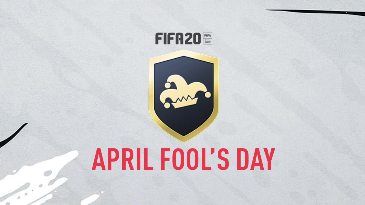 FIFA 20 April Fool's Day