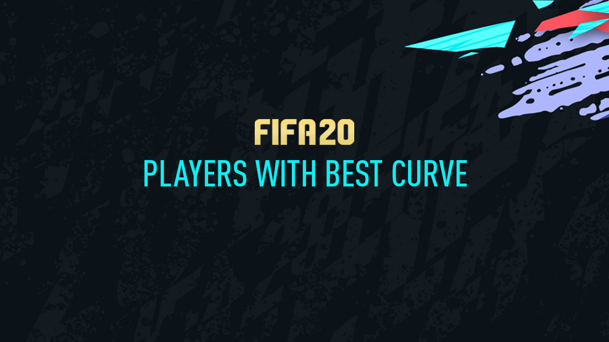 FIFA 20 Players with Best Curve Attribute