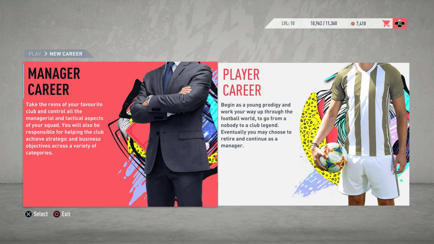 FIFA 20 Career Mode