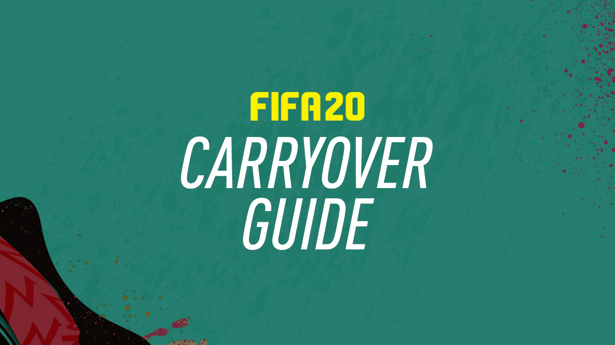 FIFA 20 Carryover and Item Transfer Guide