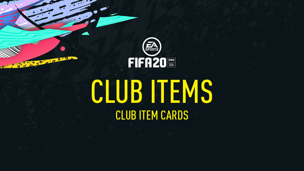 FIFA 20 Club Items