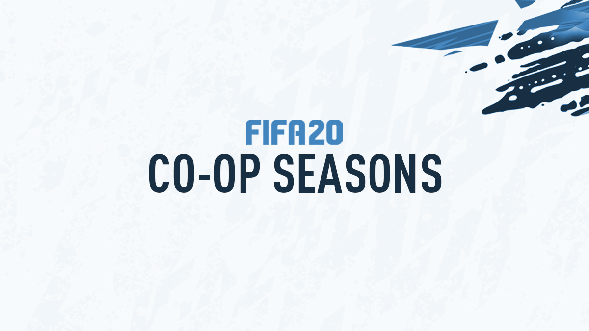 FIFA 20 Co-op Seasons