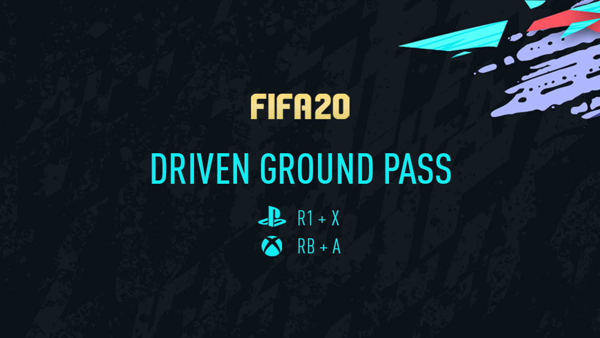 FIFA 20 Driven Ground Pass