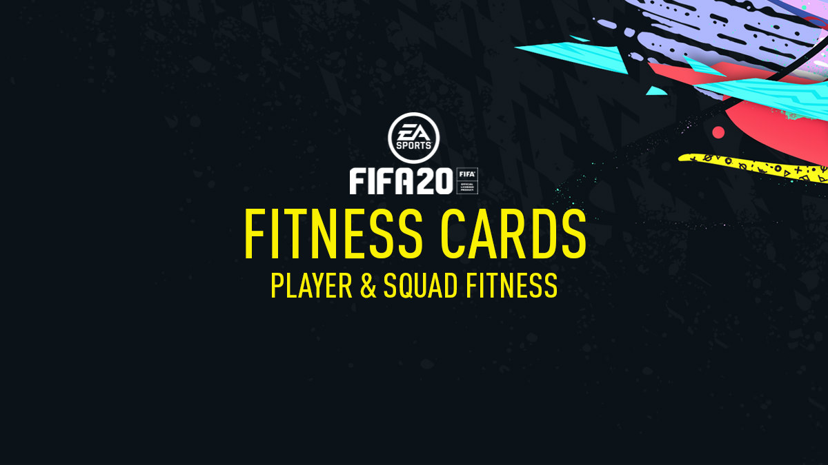Player Fitness & Squad Fitness - FIFA 20