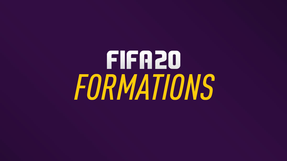 FIFA 20 Formations