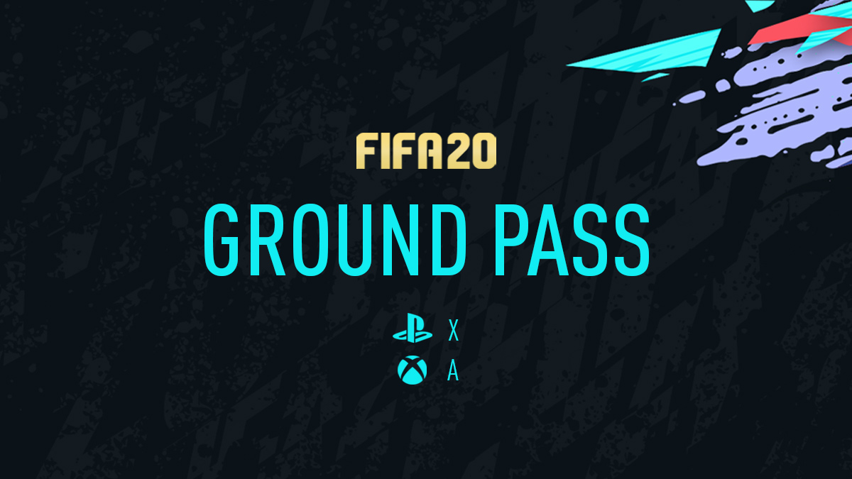 FIFA 20 Ground Pass
