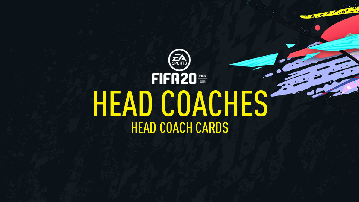 FIFA 20 Head Coaches