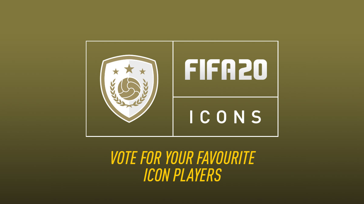 Vote for FIFA 20 Icon Players