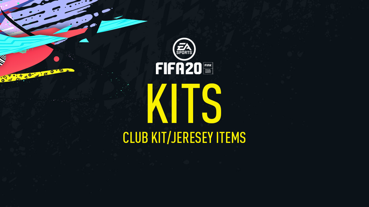 Team Kits in FIFA 20