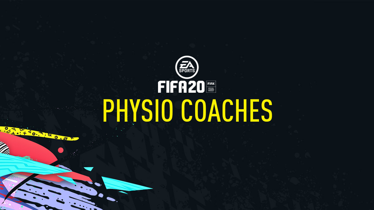 FIFA 20 Physio Coaches
