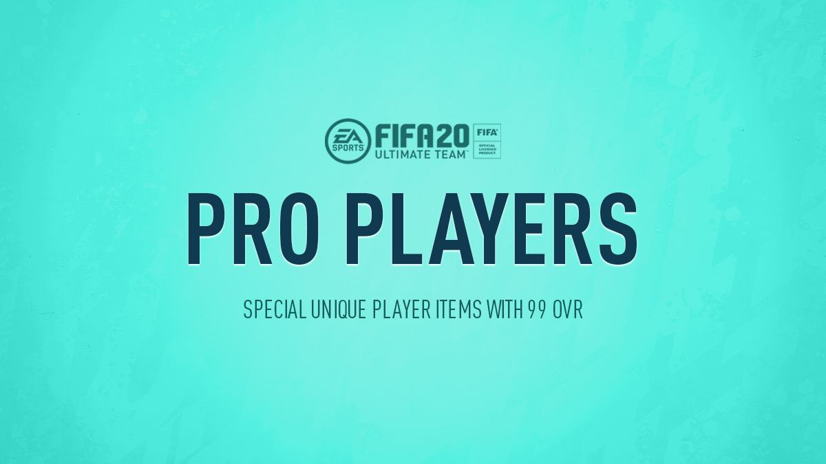 FIFA 20 Pro Player Cards