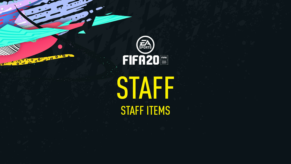FIFA 20 Staff Items