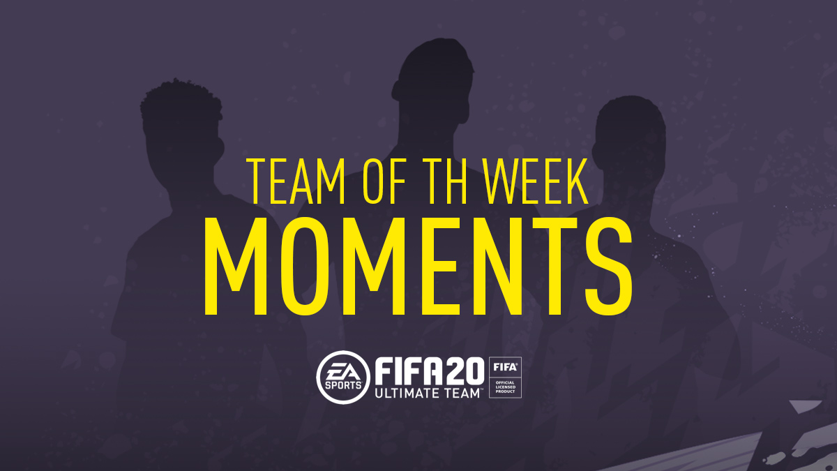FIFA 20 Team of the Week Moments (TOTW Moments)