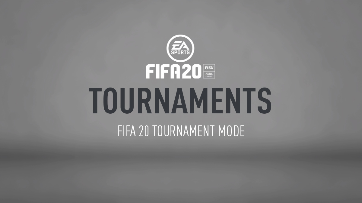 FIFA 20 Tournament Mode