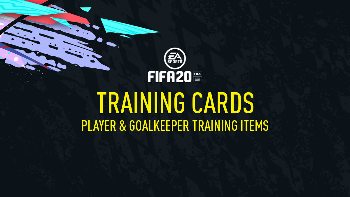 FIFA 20 Training Items